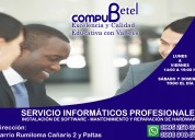 Servicio técnico de portátiles y computadoras
