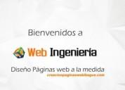 Diseño profesional de páginas web, tiendas online