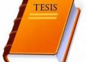Asesoria y elaboracion de tesis precios excelentes