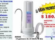 Microfiltracion de agua efectiva y segura