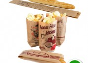 Fundas de papel para alimentos (bread bags)