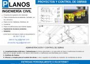 Planos mecanicos, civiles, arquitectura. renders