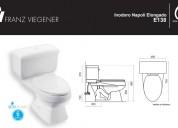 4 inodoros y lavabos marca fv