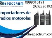 Importadores de radios motorolas