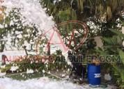 Mega maquina de espuma en machala