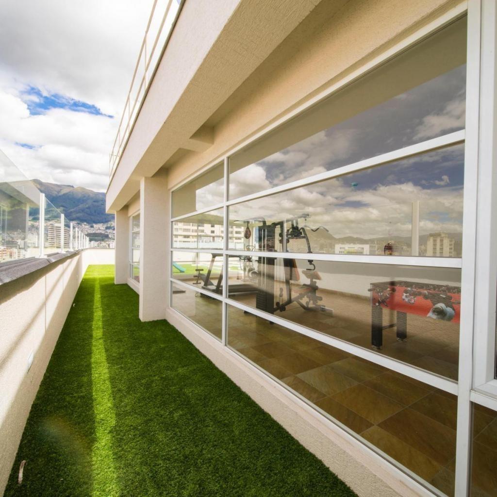 Venta de Departamento ubicado en La Gonzalez Suarez La Paz Edificio Estrella IX 2 dormitorios