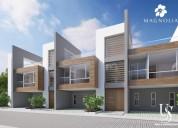 Venta casa con jardin ubicado en cumbaya tumbaco ruta viva conjunto magnolia 3 dormitorios