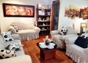 500 centro departamento de 2 dormitorios amoblado en cuenca