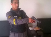 Busco trabajo de guardia de seguridad en quito