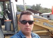 Operador de maquinaria pesada en cuenca