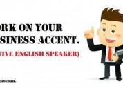 Profesor nativo de ingles empresarial negocios business english