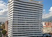 Oficina de venta edificio metropolitan sector carolina en quito