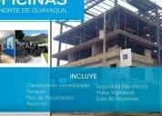 Vendo oficina en torre b edificio business plaza av terminal terrestre pascuales en guayaquil