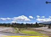 Lotes de terreno al norte de riobamba