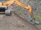 Vendo excavadora hyundai 220