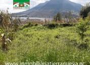 Vendo terreno de 700m2 sector san rafael - otavalo