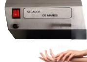 Secadores de manos en acero inoxidable grupo tec