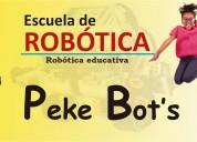 Escuela de robotica peke bots