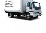 Camiones servicio de transporte de carga, mudanzas