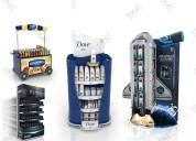 Diseño y construcción de exhibidores personaliz