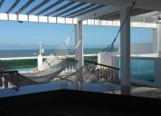 Se alquila casa frente al mar para 19 personas