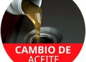 cambio de aceite - filtros - pastillas