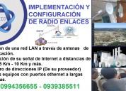 Redes inalambricas - radio enlace