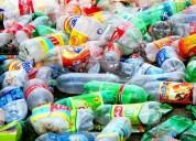 Compro plástico pet triturado / $1.50 por kilo
