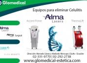 Equipos para eliminar la celulitis