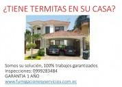 Tratamiento contra termitas/ 0999283484