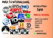 Tv satelital un solo pago