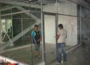 Aluminio y vidrio cel. 0963017999