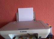 Vendo impresora canon mg2410 (poco uso)