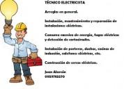 Servicios de tÉcnico electricista