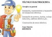 Brindo servicios de técnico electricista