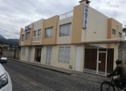 Se vende hotel en cotacachi provincia de imbabura
