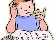 Clases de nivelacion español e inglès para niños