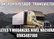 Cotizar camiones para fletes y mudanzasa