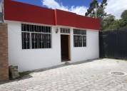 Se vende casa en otavalo de cemento armado