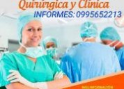 Cursos avalados de auxiliar de enfermeria