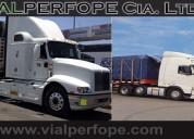 Transporte de carga sobredimencionada