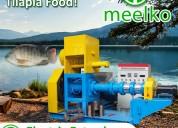Extrusora meelko para pellets flotantes mked090b