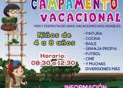 Gran campamento vacacional ⛹️♂️⛹️♀️🍁🍁!!!