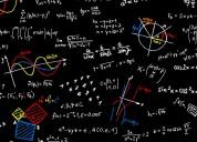 Clases particulares de matemática y física