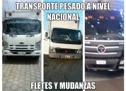 Camiones para carga pesada, liviana y carga
