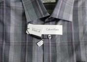 Camisa calvin klein talla 16 a cuadros (34/35)