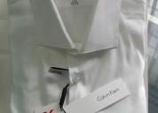 Camisa calvin klein talla 16 blanca