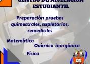 Clases de nivelaciÓn acadÉmica para colegio