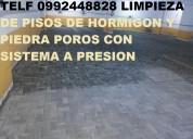 Telf 2428098 limpieza d parqueaderos subterraneos