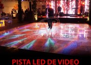 Alquiler de pista de video de led